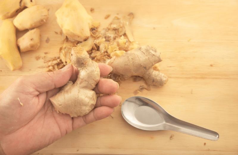 peel ginger before juicing