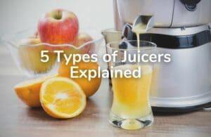5 types of juicers