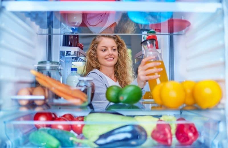 store ginger juice in fridge